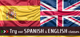 English and Spanish lessons
