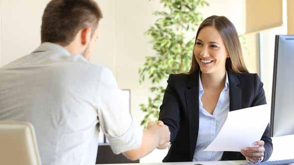 job interview in Italian