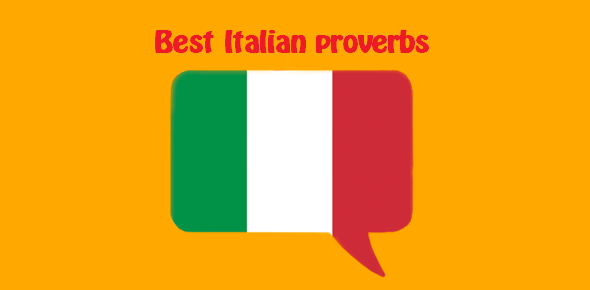 Italian proverbs with English translation