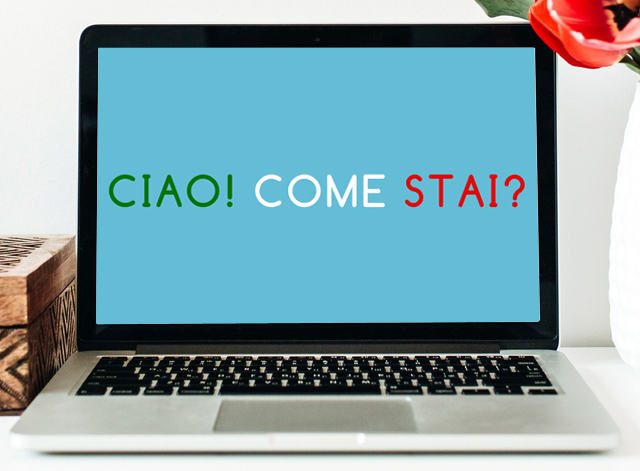 learn to speak italian online