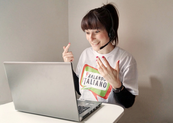 online Italian tutor