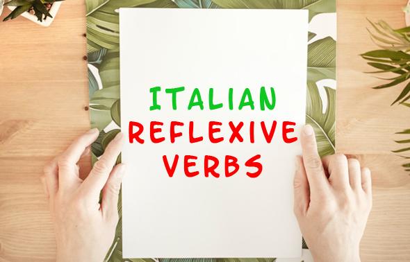 Italian reflexive verbs