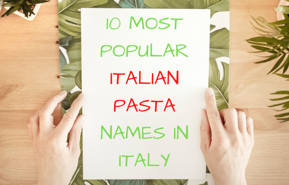 Italian pasta names
