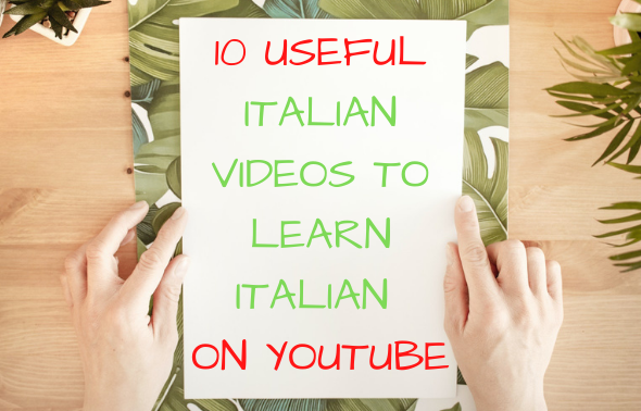 Learn Italian on Youtube